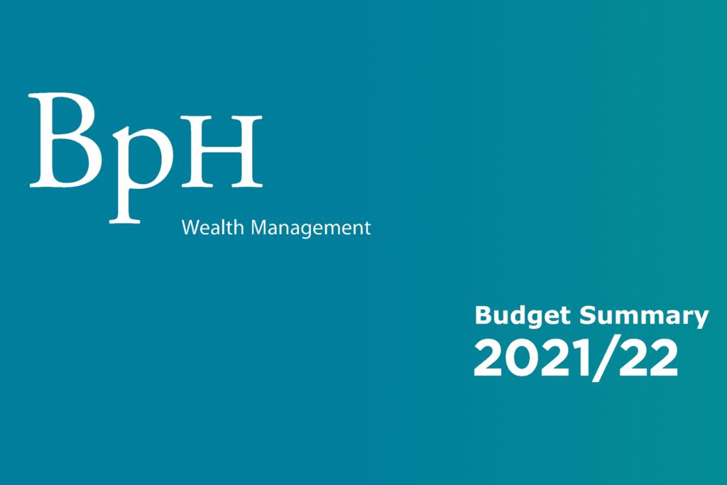 Budget summary 2021/22 header image